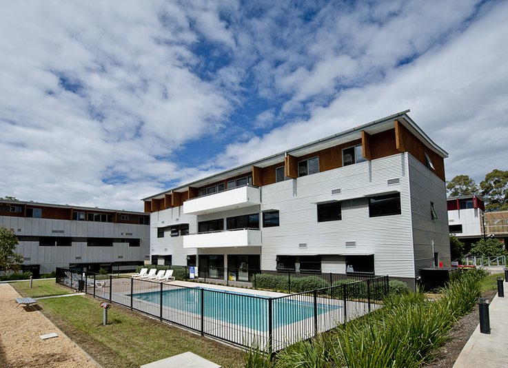 Image of Western Sydney University Village Parramatta